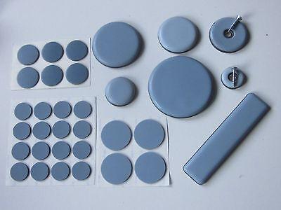 48 Teflongleiter zum schrauben 25 x 25 mm Eckig PTFE-Gleiter Untersetzer Möbel
