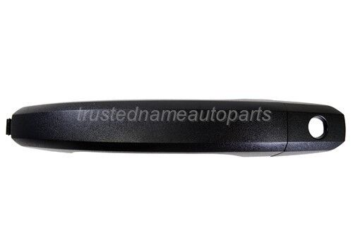 for GMC Chevrolet Outside Exterior Door Handle Textured Black Driver Side Front