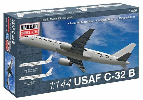 Minicraft 1//144 Boeing 757 USAF C-32B # 14696