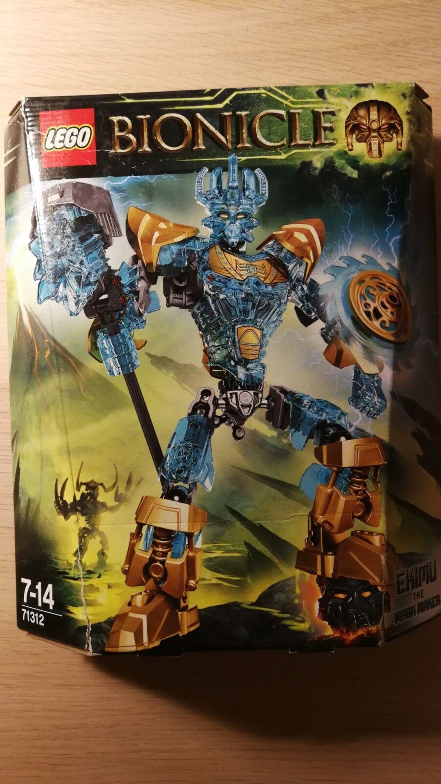 NEW LEGO Bionicle Ekimu the Mask Maker 71312 ReStiefel Hunter Beast Creature