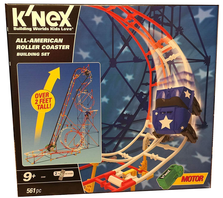 K 'NEX 55400 All-American Roller Coaster Building Set dans boîte d'origine