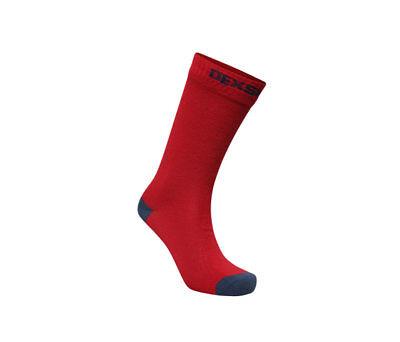 Bello Dexshell Ultra Thin-calzini Impermeabili-rosso/blu Marino-mostra Il Titolo Originale Un Rimedio Sovranazionale Indispensabile Per La Casa