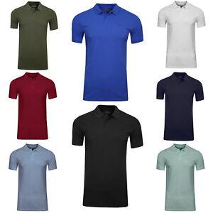 Gelernt Jack & Jones Herren Poloshirt Kurzarmshirt Business Basic Shirt Color Stick Logo