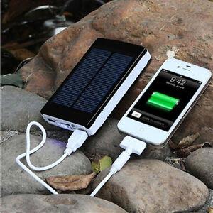 power bank solar akku 13000mah ladeger t dual usb led externes akku tragbar top ebay. Black Bedroom Furniture Sets. Home Design Ideas