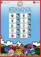 2017 Mr Men Stampex ( Spring ) Smiler Sheet