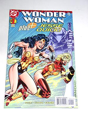 Wonder Woman Plus Jesse Quick #1 Comic DC Comics VF