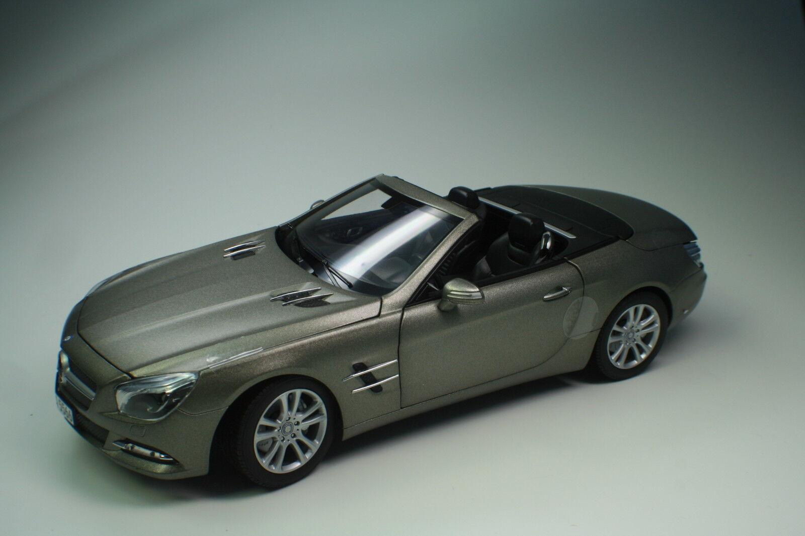 Mercedes-benz sl 500 2012 dark gris Matt 182590 norev 1 18 nuevo embalaje original