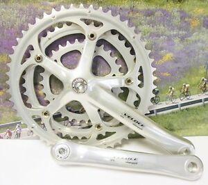 Campagnolo Veloce Triple crankset from 2007 175mm 52-42-30 NOS