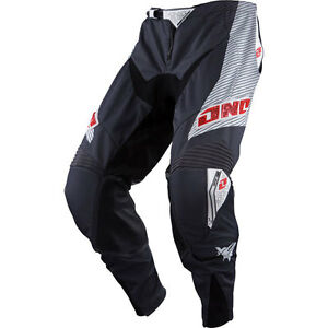NEW ONE INDUSTRIES REACTOR GREY ATV MX BMX RACING PANT PANTS size 36