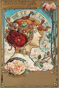 AZ47-Vintage-Charpentier-Deny-Art-Nouveau-Advertisment-Poster-Re-Print-A2-A3-A4