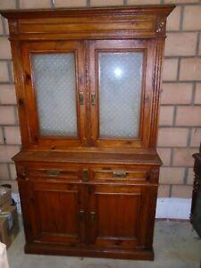 Meuble-ancien-meuble-deux-corps-vitrine-buffet-ancien-double-corps-sapin