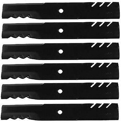 """103-6398 116-5174 92-028 6 Pack Oregon Mulch Blades 60/"""" Exmark Lazerz 103-6393"""