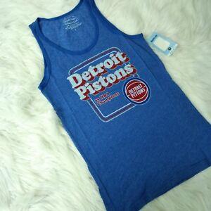 New MAJESTIC THREADS Women s Detroit Pistons Basketball Fan Blue ... 4e11a7609