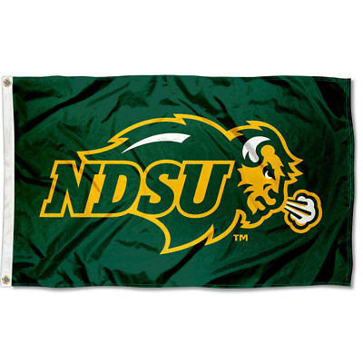 Ndsu Bison Large Outdoor Flag 816844015557 Ebay