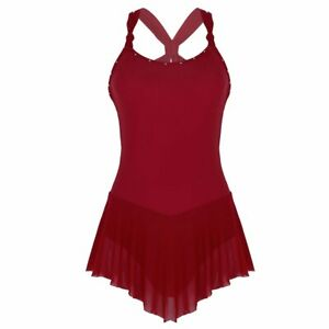 Dance-Wear-Figure-Ice-Skating-Dress-Sexy-Sleeveless-Costume-Lady-Clothes-Elegant