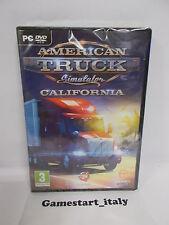 AMERICAN TRUCK SIMULATOR CALIFORNIA - PC - NUOVO NEW
