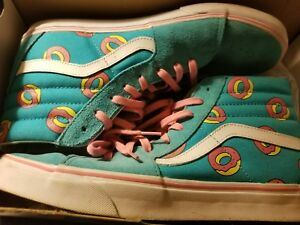 7b618e92c7e2 Image is loading Odd-Future-OF-Donut-SK8-Hi-Vans