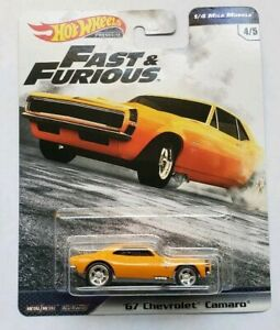 Hot-Wheels-Fast-And-Furious-67-Chevrolet-Camaro-1-4-Mile-Muscle-4-5-VHTF