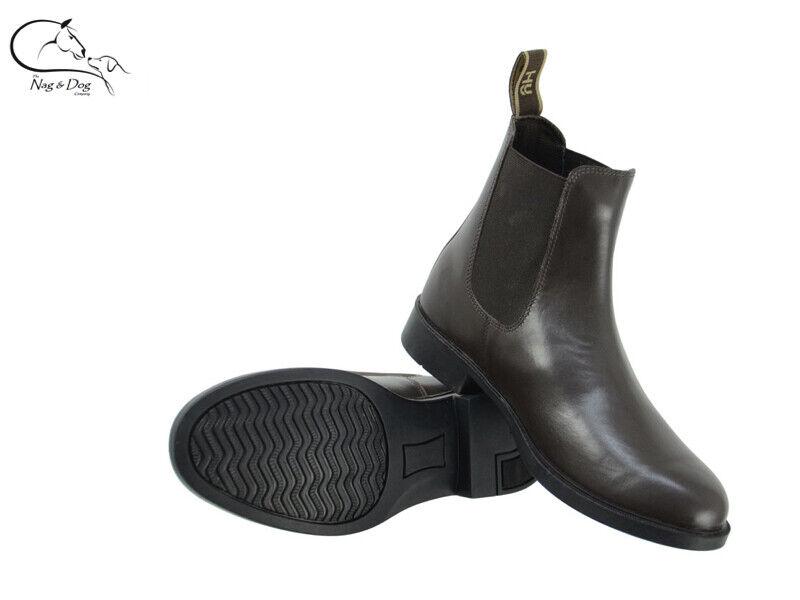 Hyland Adulti Melford Leather Jodhpur Jodhpur Jodhpur Stivali Nero Marronee TG 4-8 GRATIS P&P 2b906f