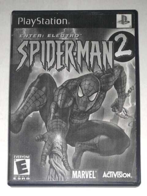 Spider-Man 2 Enter Electro PlayStation 1 PS1