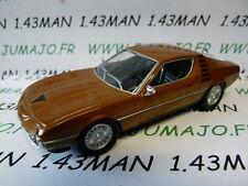 VOITURE 1/43 IXO déagostini russe dream cars : ALFA ROMEO Montréal coupé