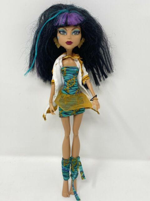 Monster High Picture Day Doll: Get Close Up With Cleo De