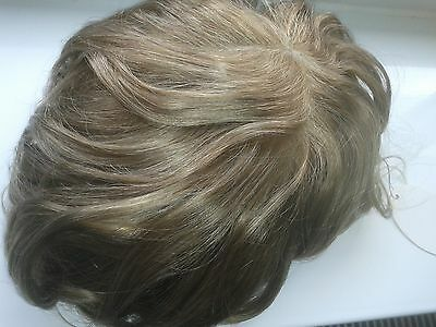 PREMIUM QUALITY: Skin, 'Injected' Hair System. Mens Hairpiece, Hair Piece, Wig