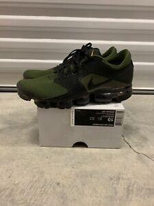 Nike Air Vapormax Flyknit Black Green