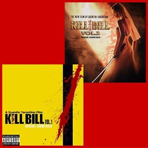 Kill-Bill-Quentin-Tarantino-Volume-1-amp-2-Album-Bundle-2-x-Vinyl-LP-NEW