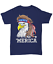 /'Merica Bald Eagle T-Shirt USA Patriotic American Flag Mullet 4th July Tee Gifts