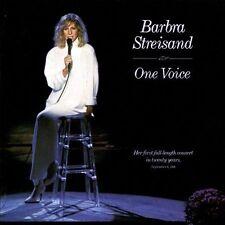 Barbra Streisand / One Voice (LIKE NW CD 1987) Barry Gibb, Richard Marx  GREAT!!