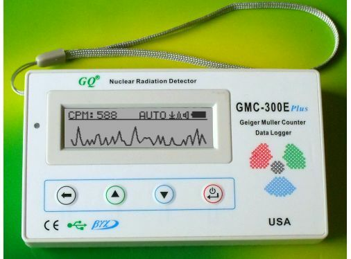 GMC-300E Plus Digital Geiger Counter Nulcear Radiation Detector Meter Beta Gamma