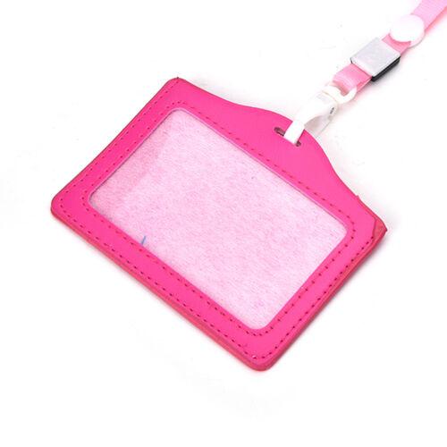 Porta nome ID Card Holder Badge Lanyard Neck Strap Necklace Strap