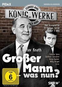 Großer Mann - was nun? * DVD 8-teilige Serie mit Gustav Knuth Pidax Neu