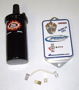 FBO-Mopar-Ignition-ECU-Module-HRR688-w-Coil-Ballast-Jumper-amp-J685-Limiter-Plate