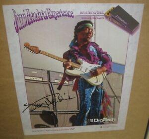 RARE-Jimi-Hendrix-Digitech-Promo-Poster-Artist-Series-19x15-Ad-FREE-Ship