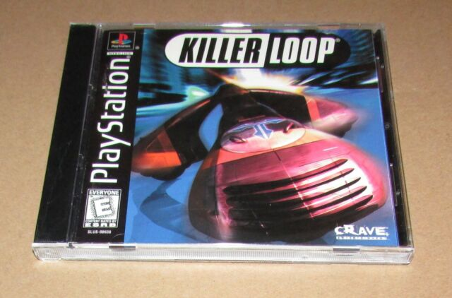 Killer Loop for Playstation PS1 Complete Fast Shipping