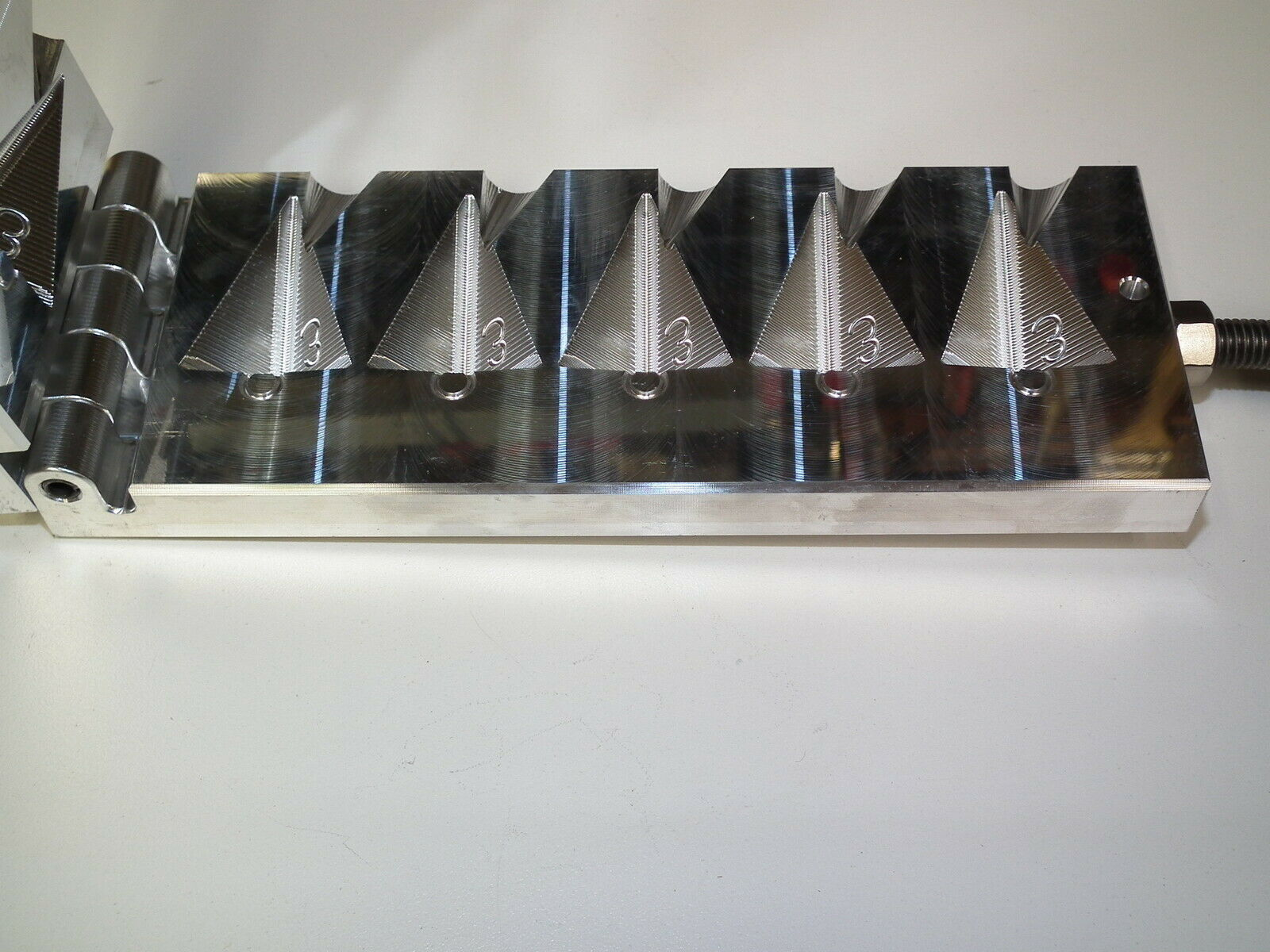 Pyramid Sinker Multi Cavity Production molds 1 to 10oz Choose Größe Surf