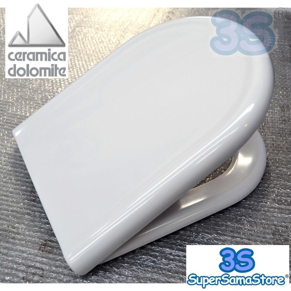 3S SEDILE ORIGINALE CERAMICA DOLOMITE per WC CLODIA in TERMOINDURENTE J104900