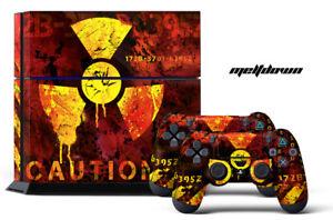 247 La Peau Sony Ps4 Meltdown Playstation Wrap Autocollant Autocollant Wrap-afficher Le Titre D'origine Czpd6mw2-07162943-154677769