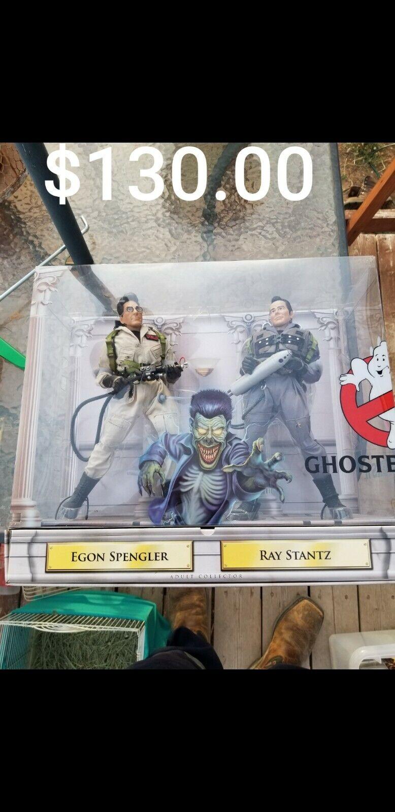 Mattel Ghostbusters courtroom Battle EGON SPENGLER Action Figure avec Mailer Box