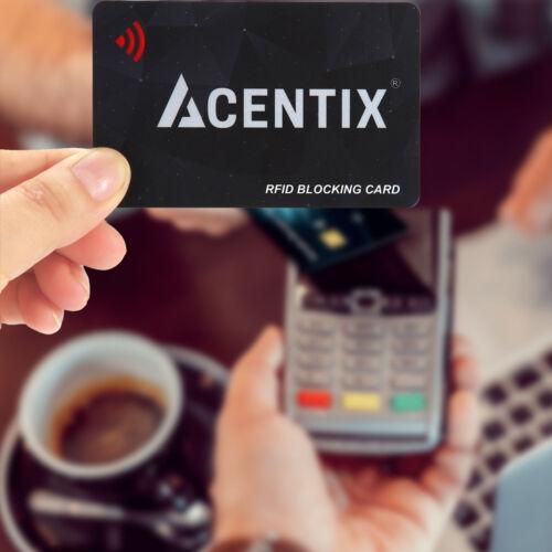 2X RFID Blocking Card Contactless Protector Blocker Bank Debit Card Wallet Purse
