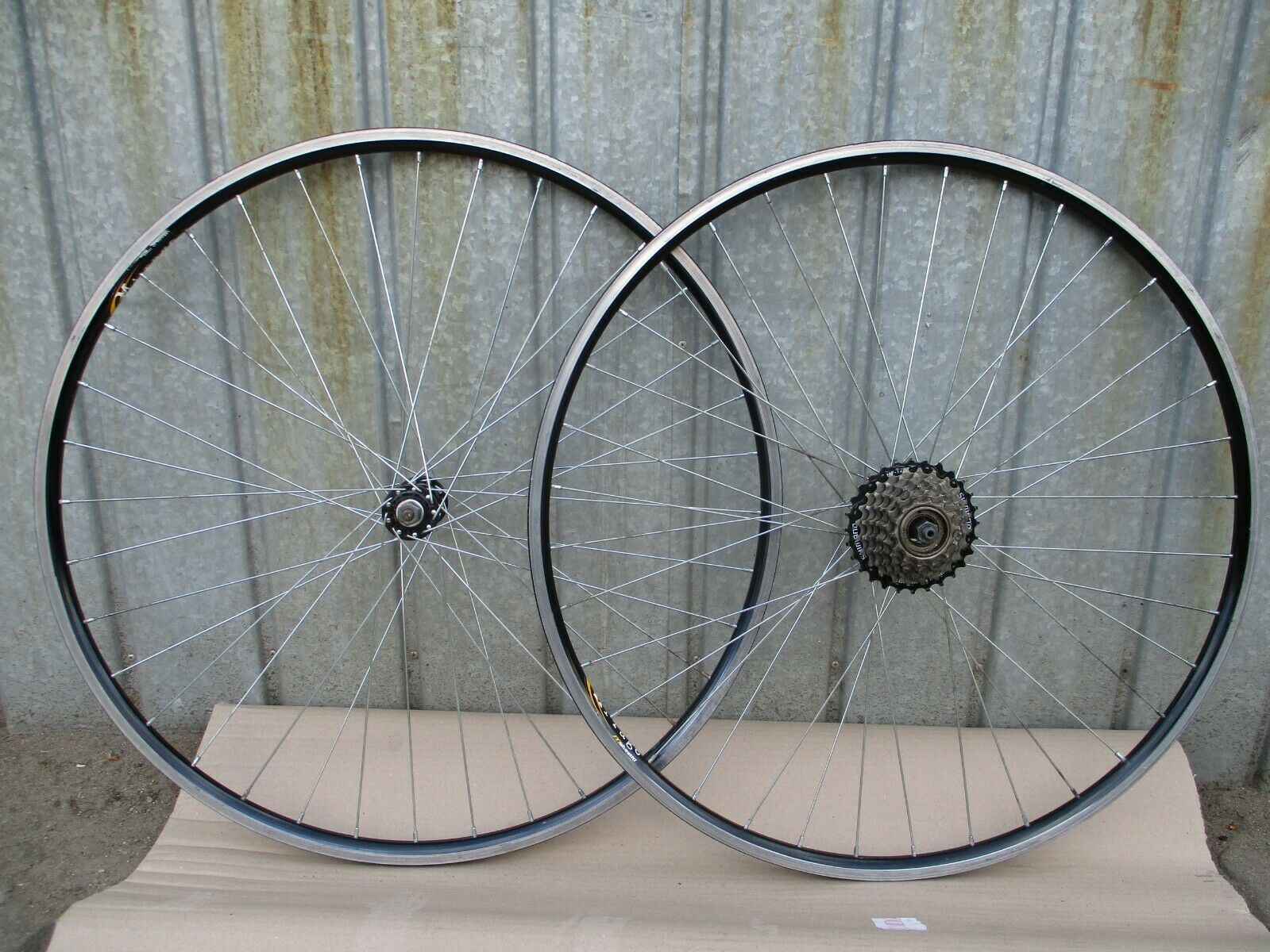 Vintage  wheelset Joytech   Mirage - 36 holes - 7 speed  lowest prices