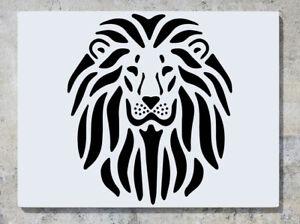 Decalcomania Adesivo Arte Leone Selvatico King Of The Jungle Zoo da Parete