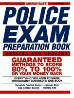Norman Hall`s Police Exam Preparation Book By Norman Hall, (paperback), Adams Me