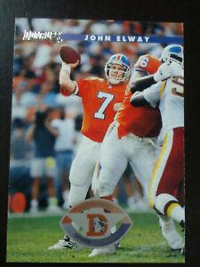 FREE SHIPPING-John Elway-1996 Donruss Football-nrmt/mt/8-no.173-HOF-Broncos