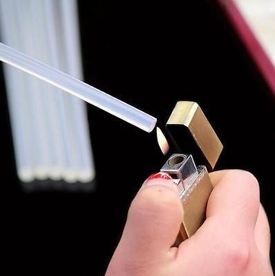 12pcs New 5mm x 180mm Clear For Gun Mini Adhesive SticksGlue Glue Hot Melt