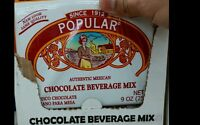 Traditional Mexican Chocolate Popular - Two Large 9oz.sheets -free Priority Ship