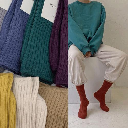 Women Fashion Solid Colored Short Sock Cotton Socks Harajuku Socks For Lady Girl