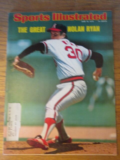 Sports Illustrated June 16, 1975 The Great Nolan Ryan